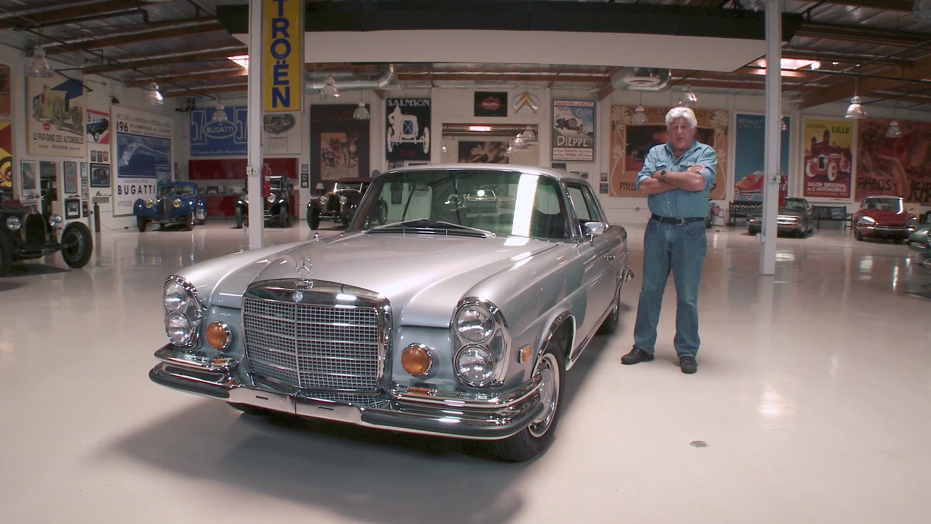 Watch Jay Leno's Garage Web Exclusive: 1971 Mercedes-Benz 280SE 3.5 Coupe -  NBC.com