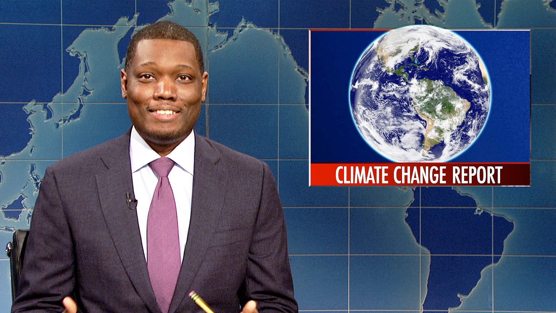 Climate Change Update: Watch Saturday Night Live Highlight: Weekend Update: U.N