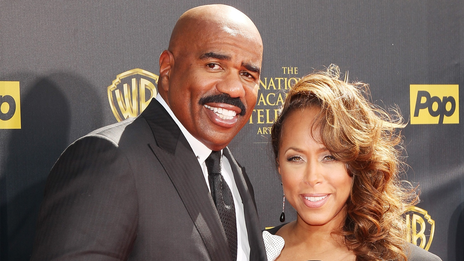 watch access interview steve harvey defends wife marjorie harvey