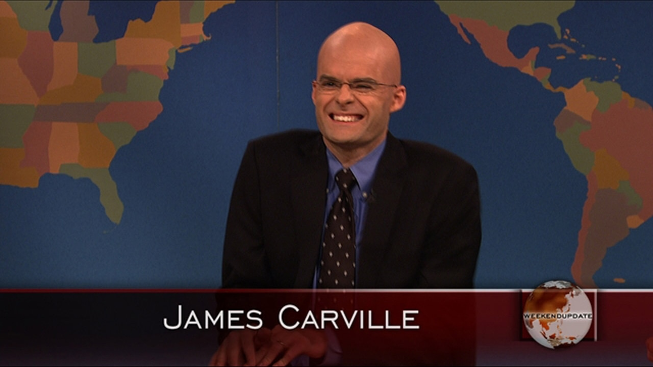 Bill Hader's James Carville Impression Returns To