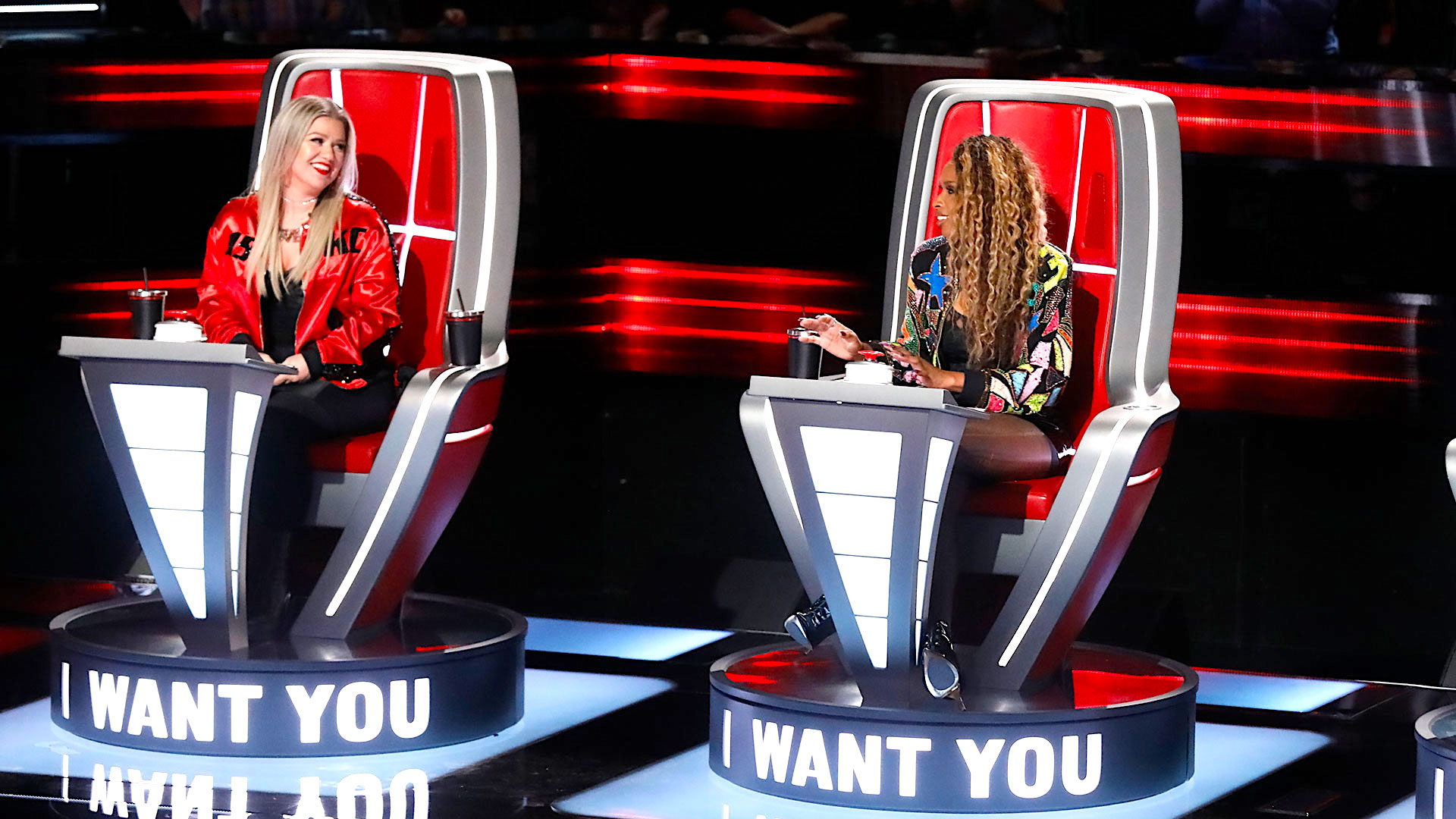 Watch The Voice Web Exclusive: Kelly Clarkson and Jennifer Hudson ...