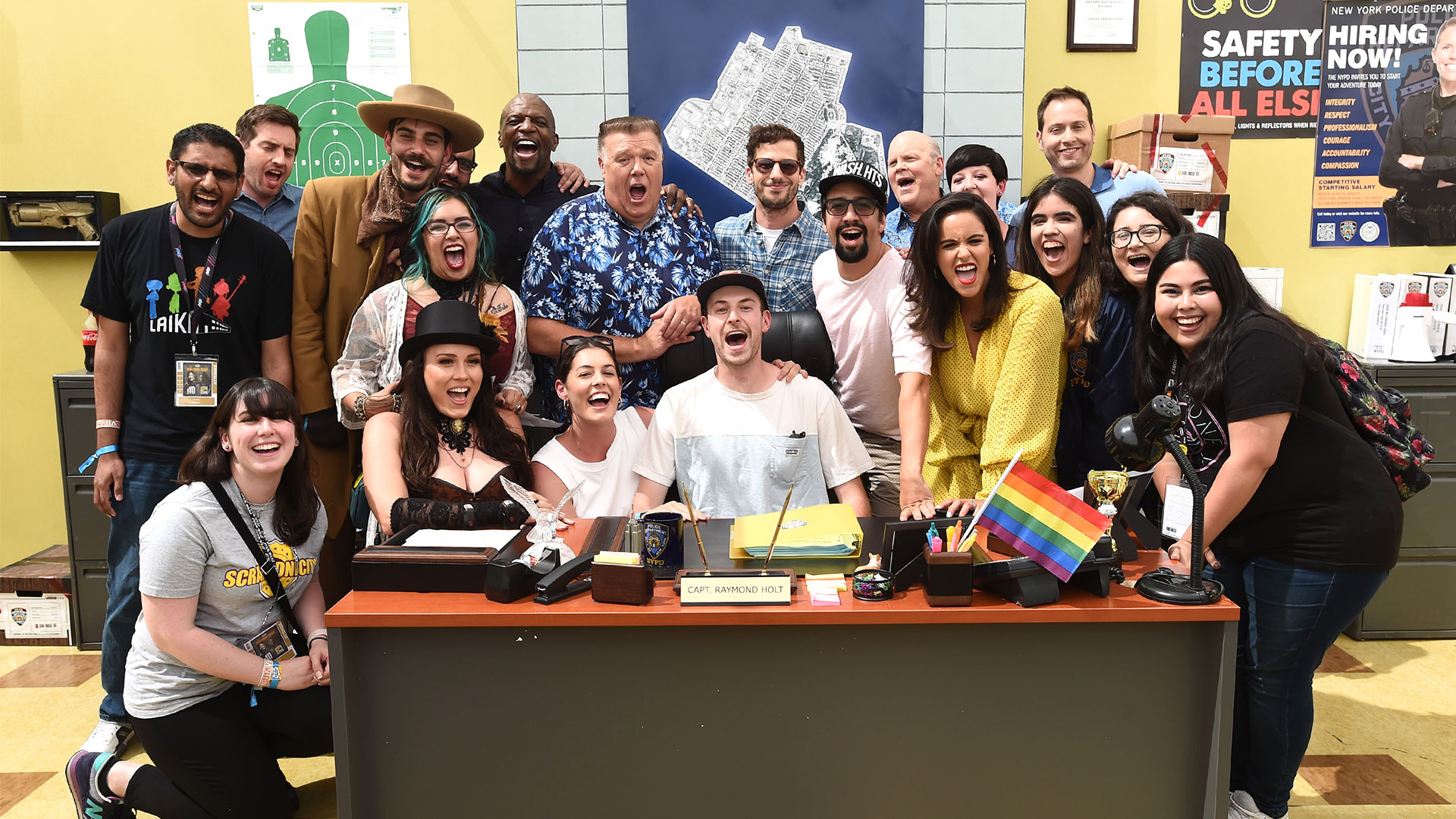 Comic-Con 2019: Brooklyn Nine-Nine Cast Surprises Fans