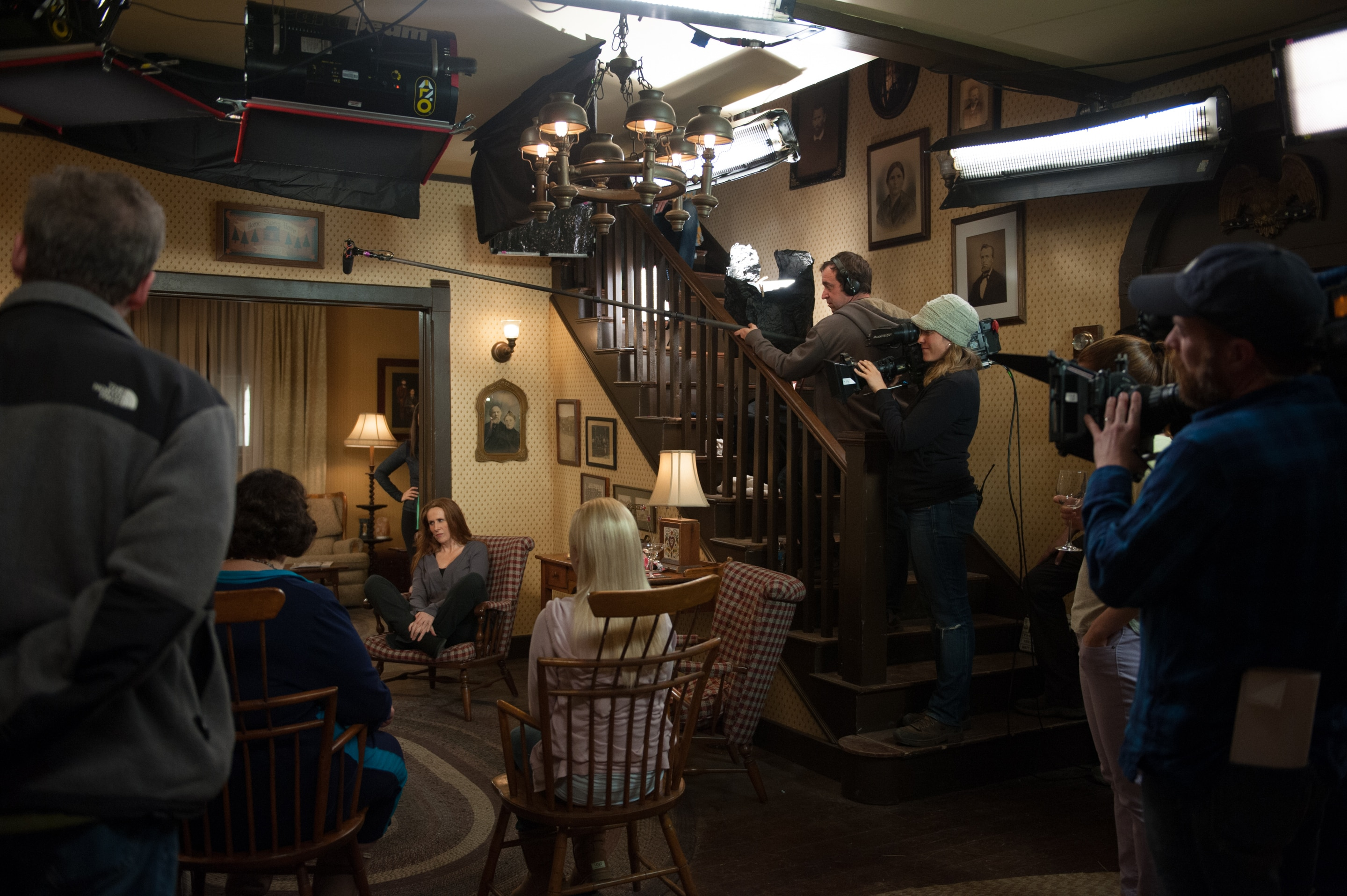 The office finale behind the scenes photo 694486 - The office season 9 finale ...