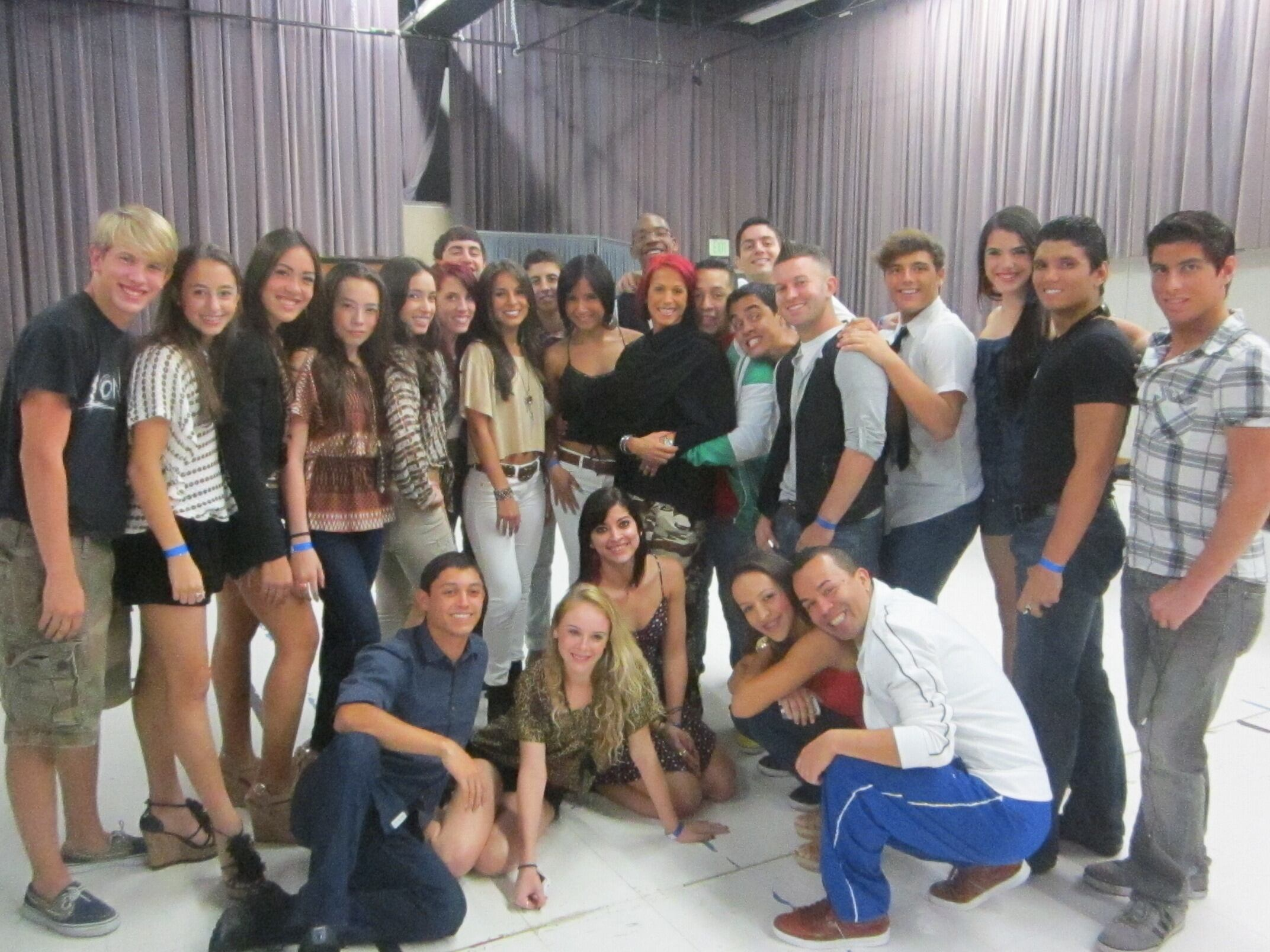 Group Picture In One Of The Rehearsal Rooms!