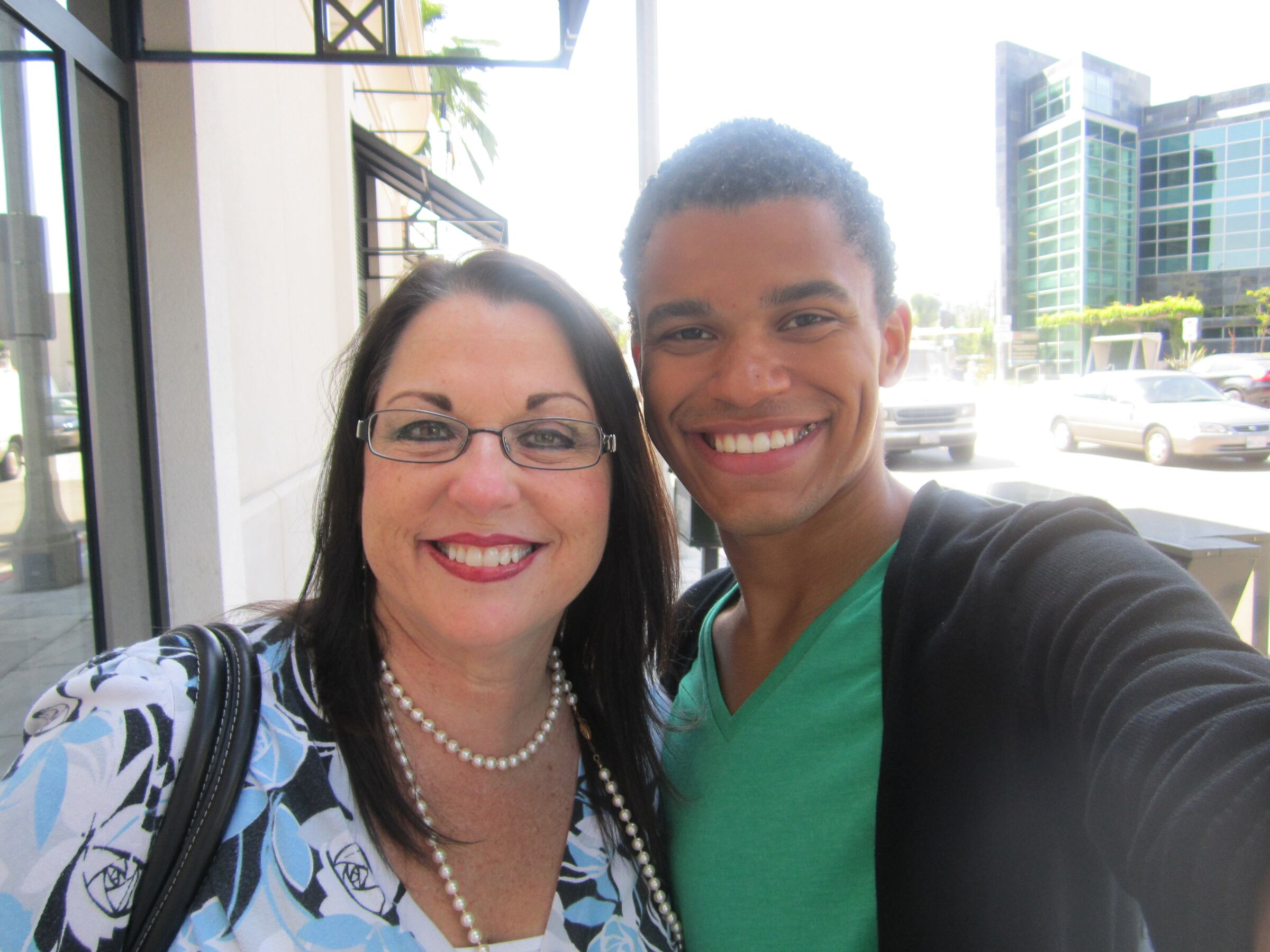 My mother & I in Hollywood :)