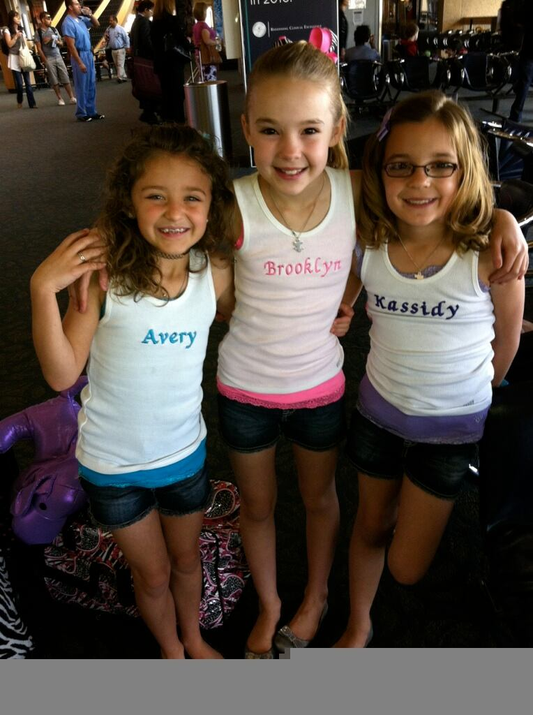 Avery and the Calico Hearts at Airport headed to Houston auditions!