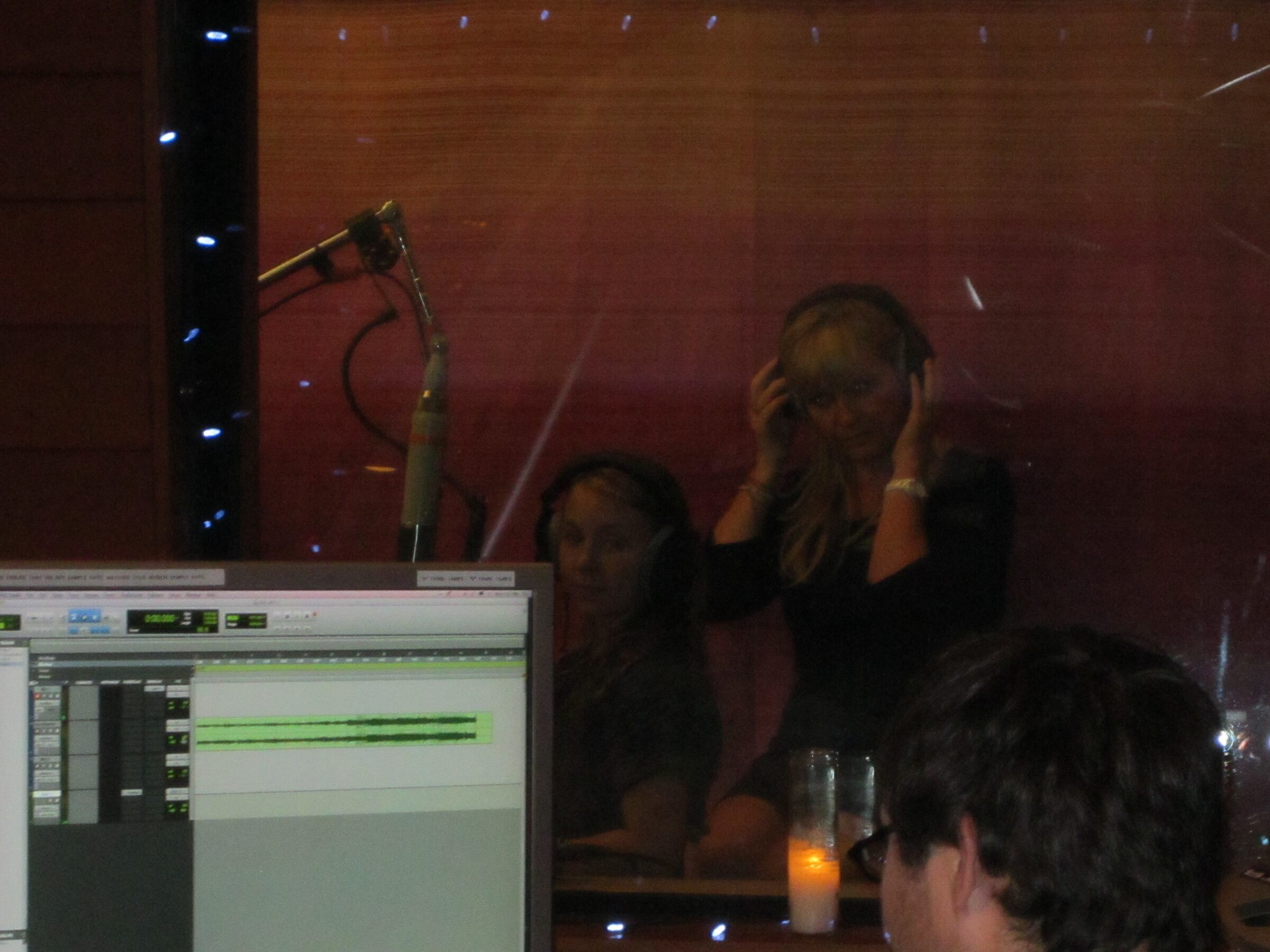 in the agt studio with one of the best vocal coaches in the world. No! the Best! love her