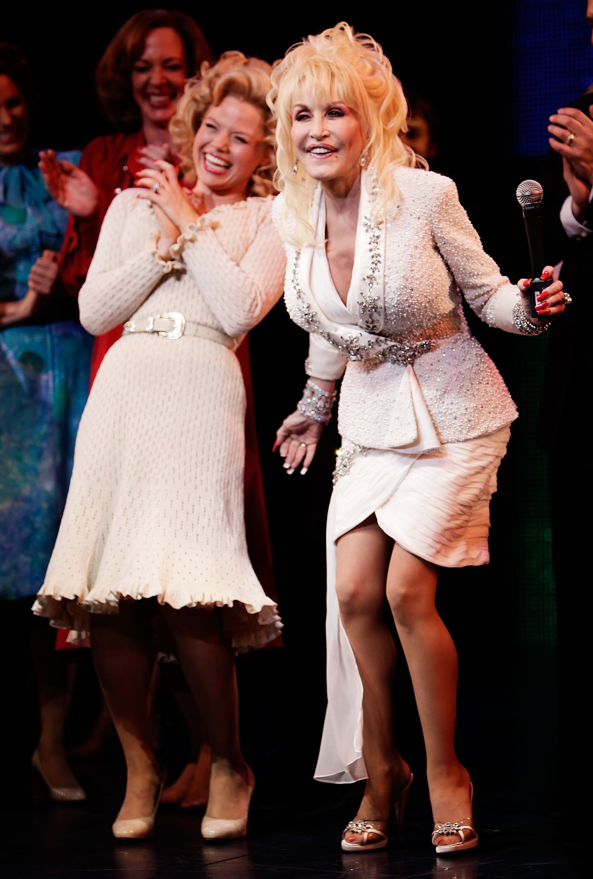"""9 To 5: The Musical"" Broadway Opening Night - Arrivals And Curtain Call"