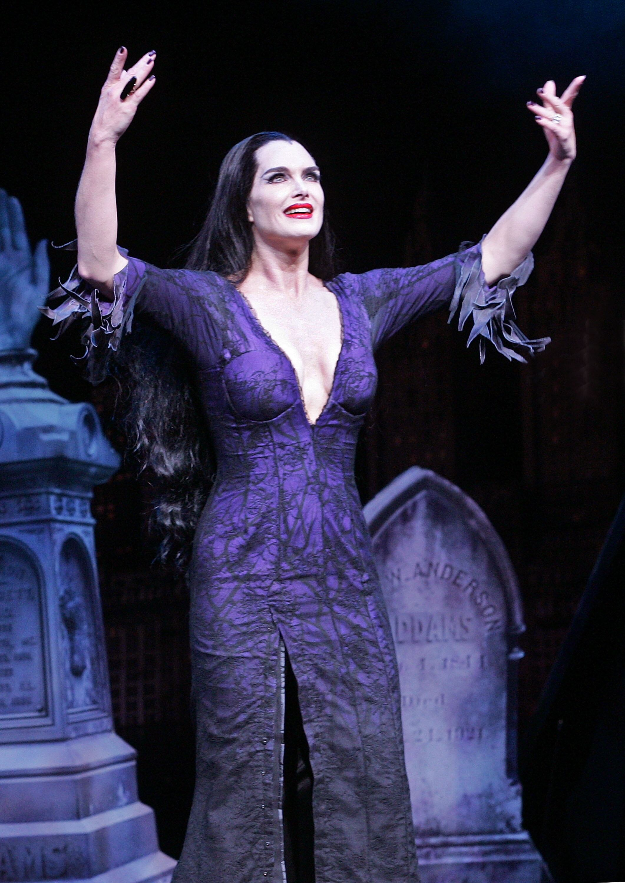 "Brooke Shields Joins The Broadway Cast Of ""The Addams Family"" - Curtain Call"