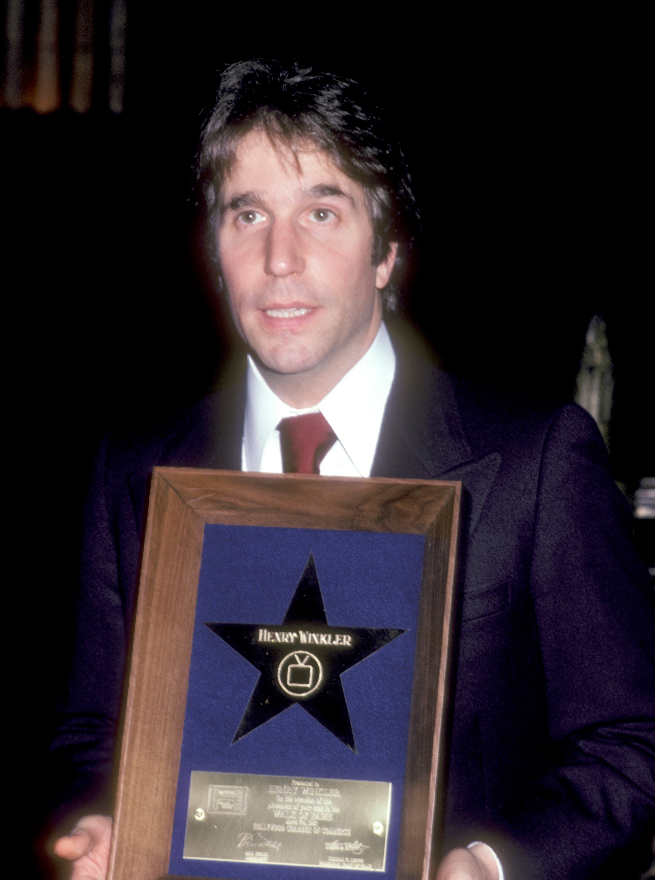 Henry Winkler Receives a Hollywood Walk of Fame Star