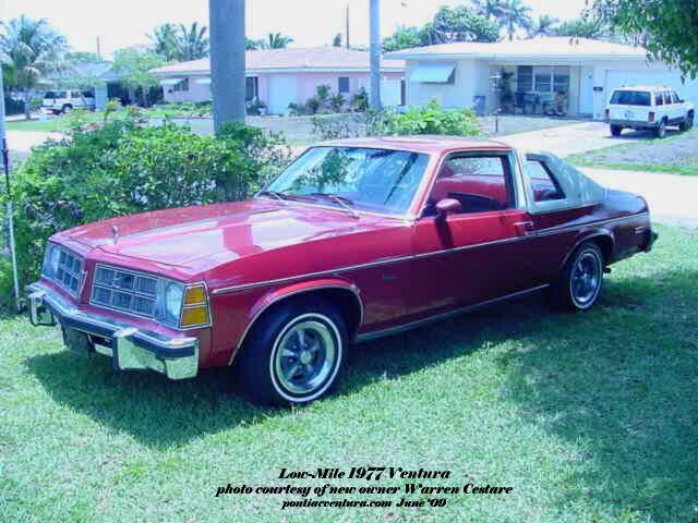1977 - Pontiac, Ventura