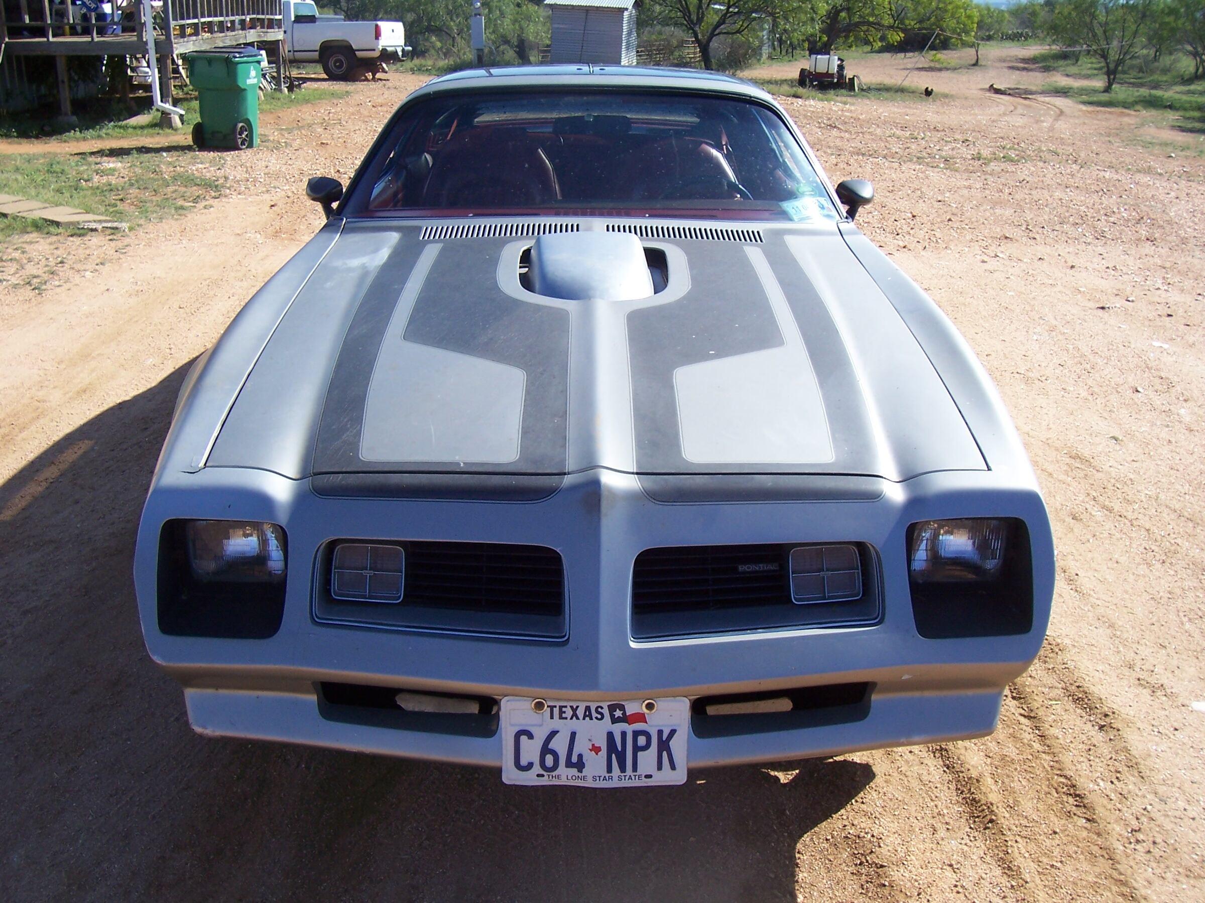 1976 - Pontiac, TransAm  455 4speed  T-Tops