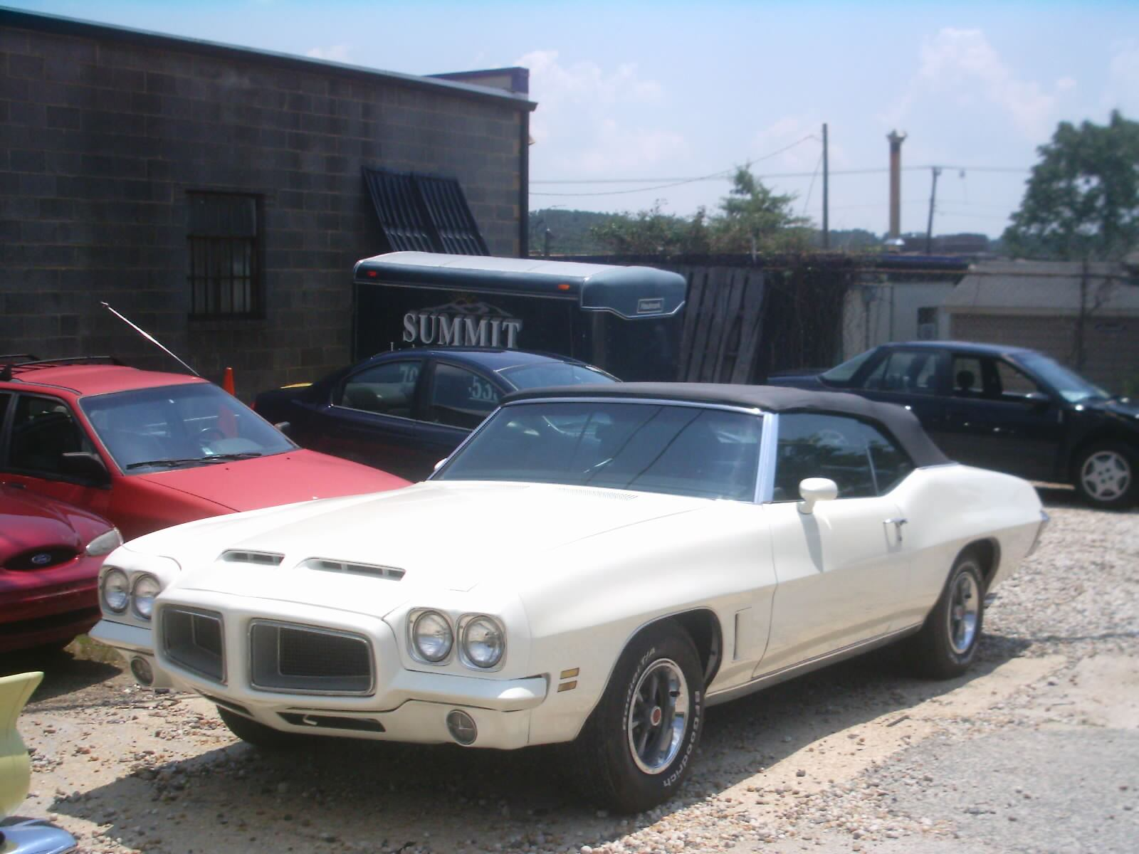 1972 - Pontiac, Lemans Sport Convertible