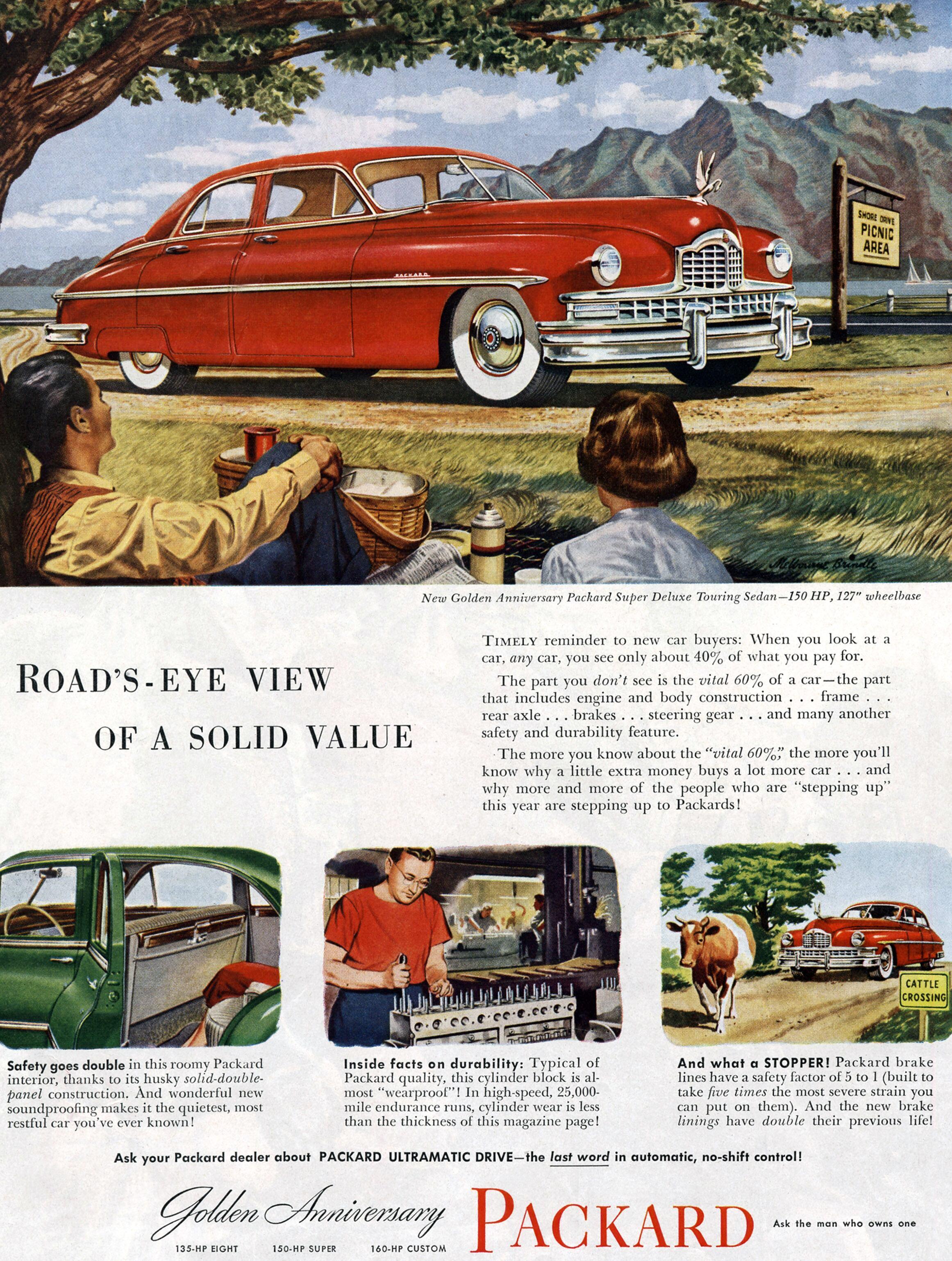 Packard Super Deluxe Touring Sedan