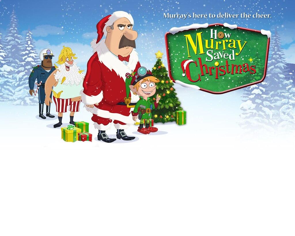 How Murray Saved Christmas - Key Art