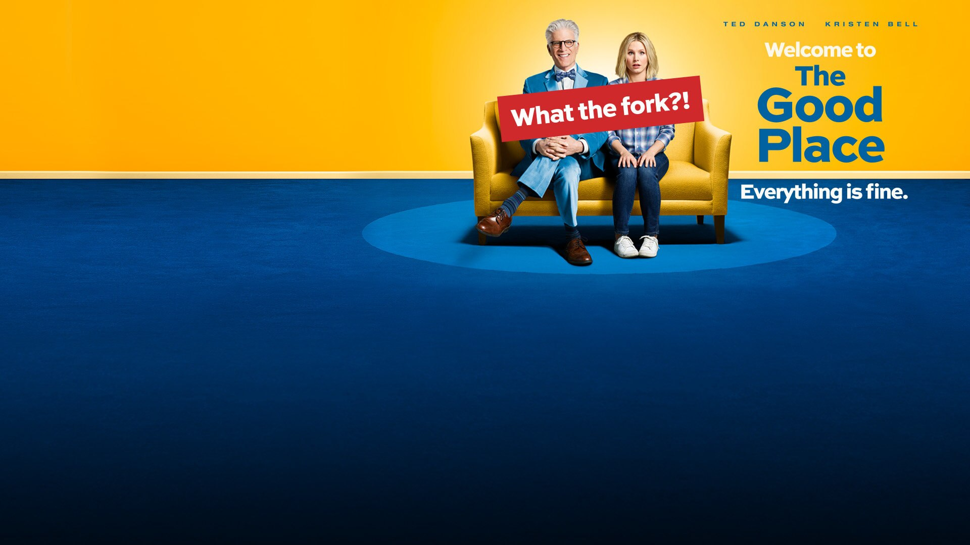 The Good Place - NEW SITE - Key Art