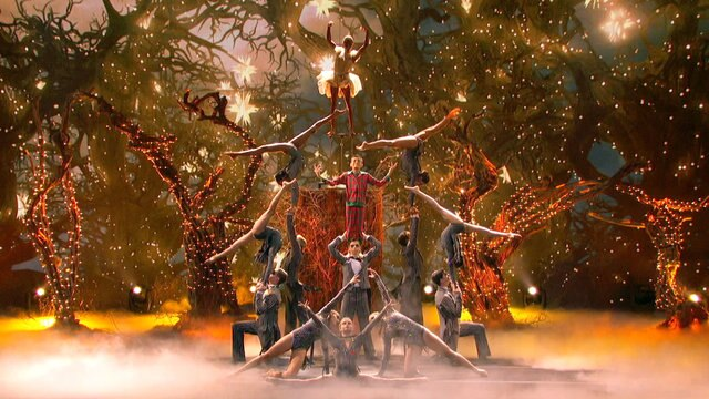 AcroArmy Channels Tim Burton's Nightmare Before Christmas