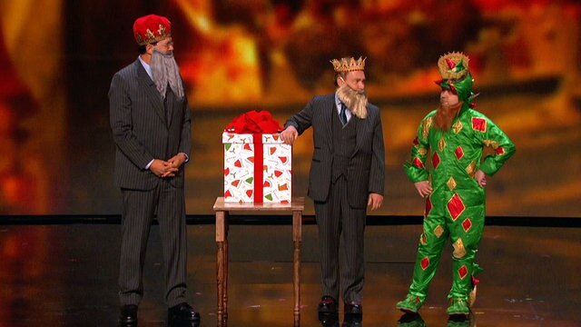 Penn and Teller Team Up With Piff the Magic Dragon and Mat Franco