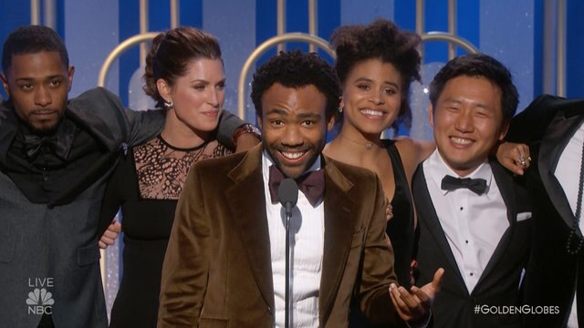 Atlanta Wins Best TV Series, Musical or Comedy at the 2017 Golden Globes