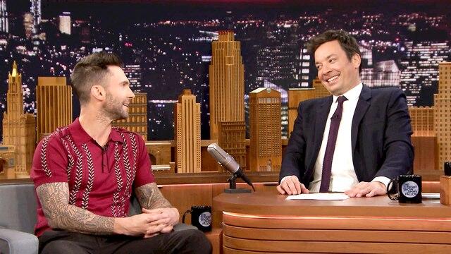 Adam Levine, Josh Gad, Maroon 5