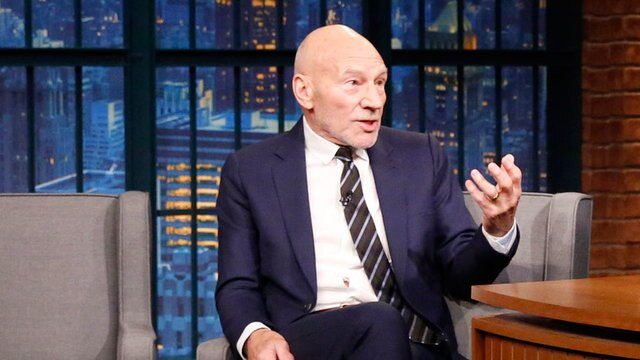 Patrick Stewart Jumped at the Chance to Play Poop Emoji