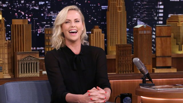 Jimmy Fallon Begs to Be Charlize Theron's Bond Girl