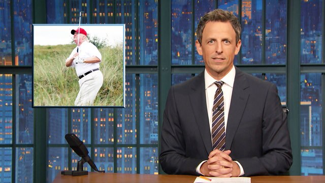 Trump Spent Fourth of Presidency at Golf Course, NY Mets' Phallic Bobblehead - Monologue