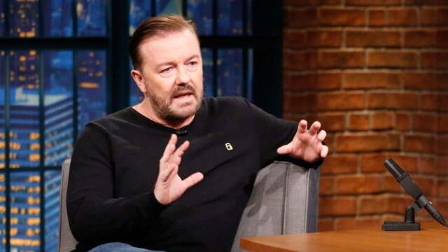 Ricky Gervais Mistook a Snakeskin for a Used Condom