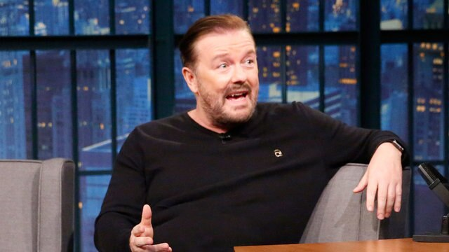 Ricky Gervais on Why He Keeps Politics Out of His Stand-Up and Twitter In