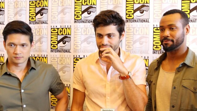 'Shadowhunters' At Comic-Con: Harry Shum Jr. & Matthew Daddario On Malec