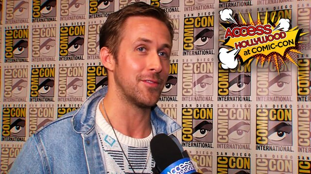 Ryan Gosling On Bringing 'Blade Runner 2049' To His First Comic-Con