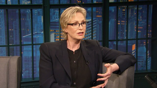 Jane Lynch Travels with Everything in Her Bra
