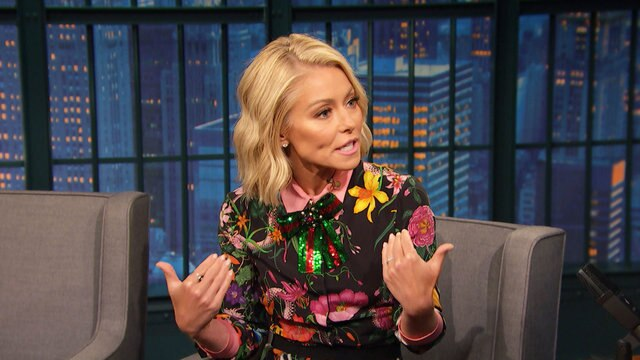 Kelly Ripa Had a Run-In with a Bear