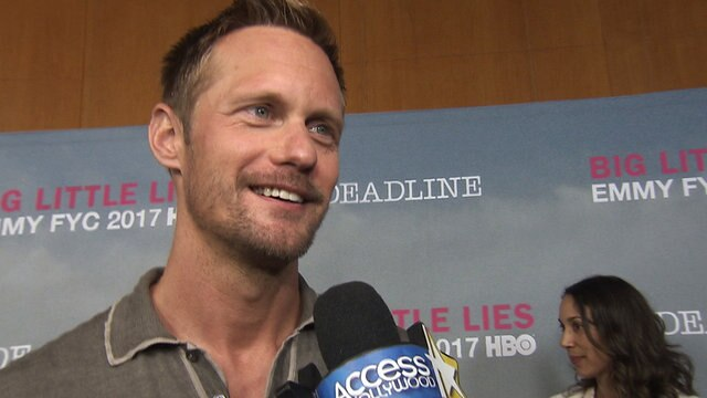 'Big Little Lies': Alexander Skarsgård On Getting An Emmy Nomination, His Dark Role