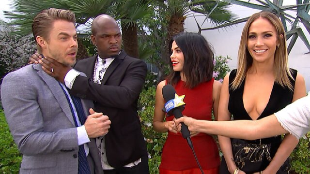 'World Of Dance': JLo, Ne-Yo, Derek Hough & Jenna Dewan Tatum Talk About Each Other