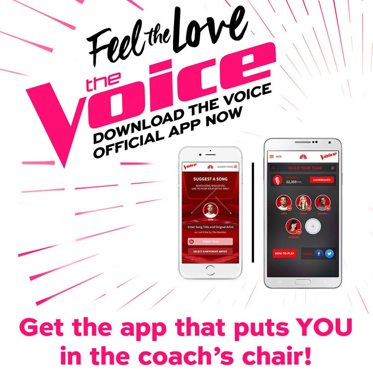 Get ready to vote for the Season 12 winner. Download The Voice app.