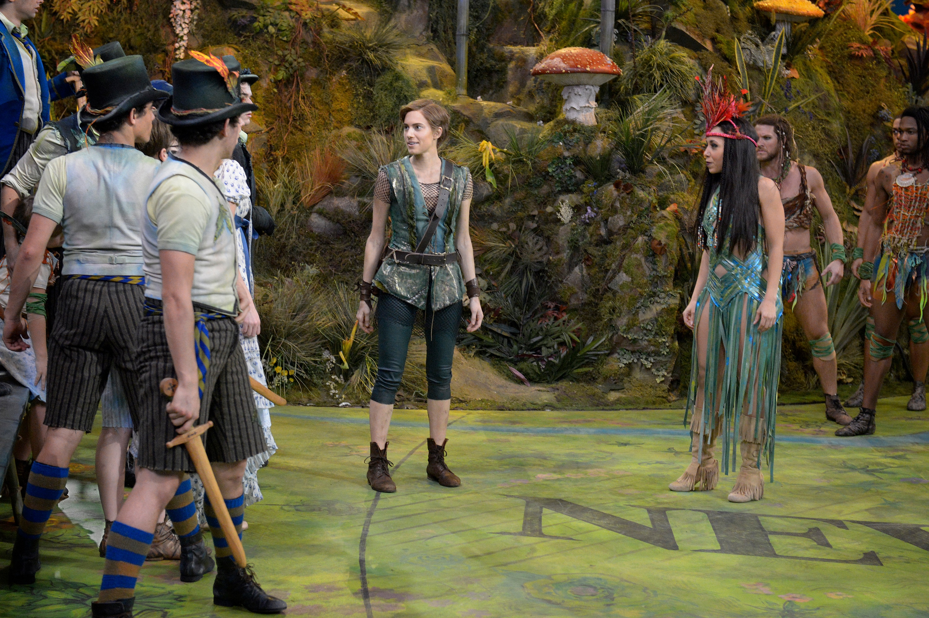 Peter Pan LIVE!: Photos from the Live Broadcast of Peter Pan Live! Photo:  2089196 - NBC.com
