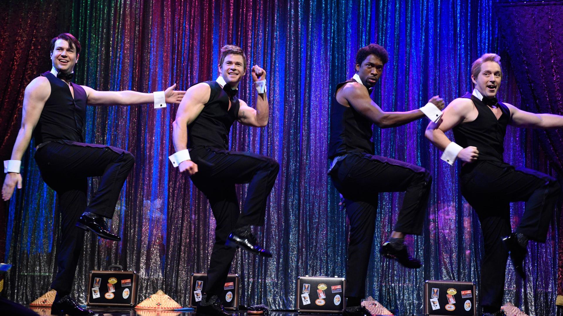 Strip male dance