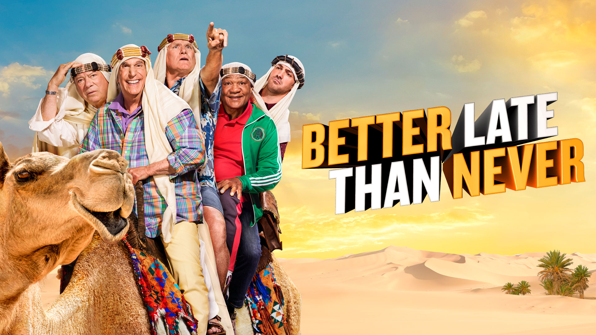 Watch Better Late Than Never Episodes at NBC.com