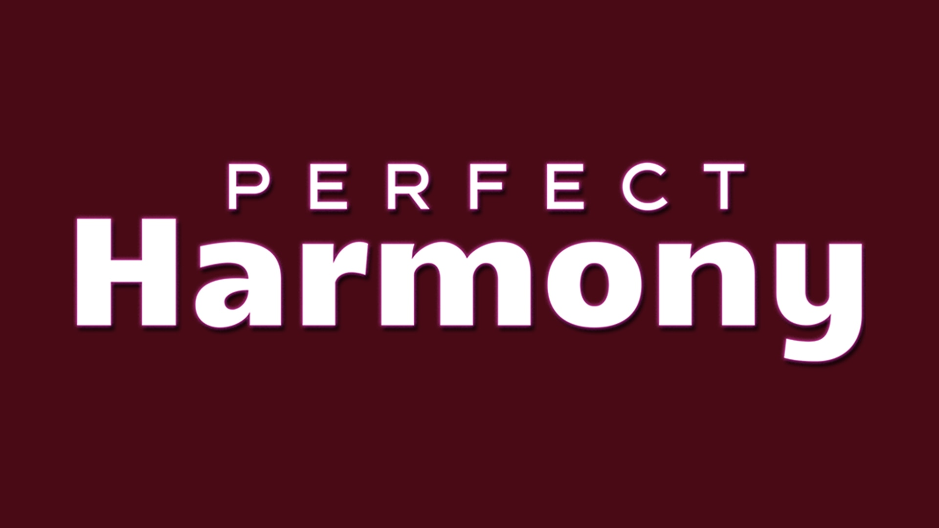 Perfect Harmony Nbc Com
