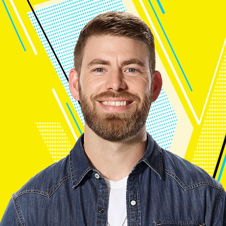 Image result for Zach Bridges the voice