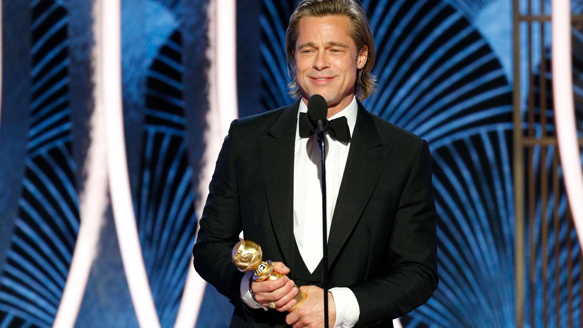 Watch The Golden Globe Awards Highlight: Brad Pitt Wins ...