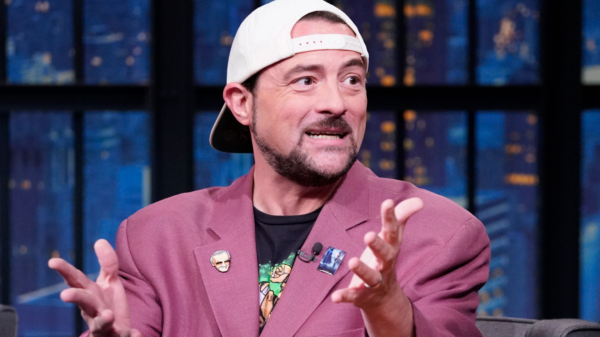 Kevin Smith Gets Seth to Invite Him Over for a Late Night Smoke Sesh