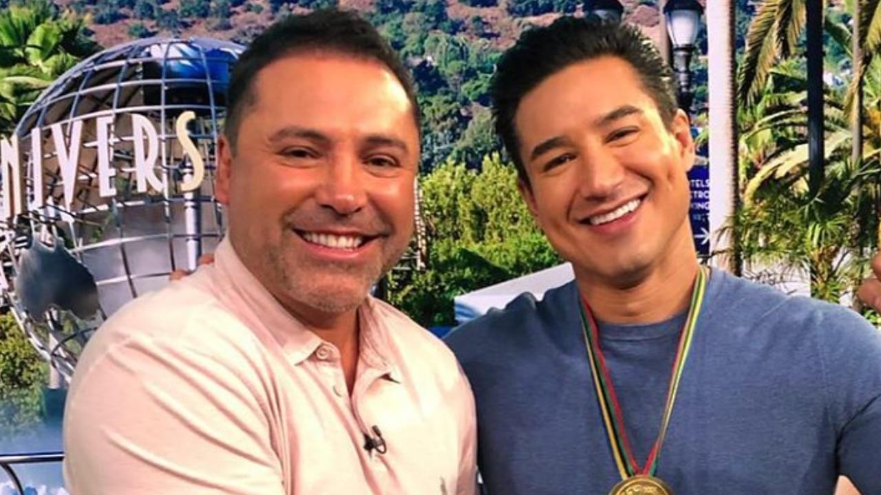 Watch Access Hollywood Interview Mario Lopez Says Oscar De La