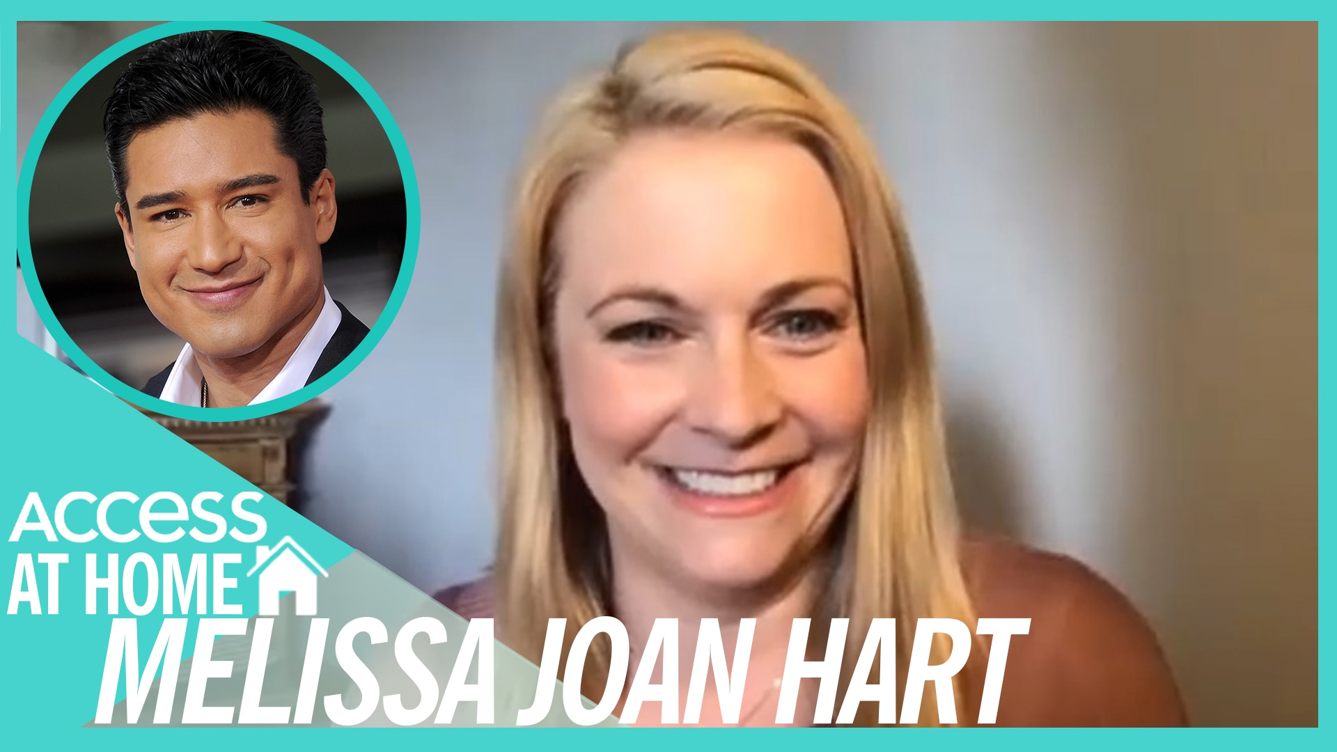 Watch Access Hollywood Interview Melissa Joan Hart Says Mario