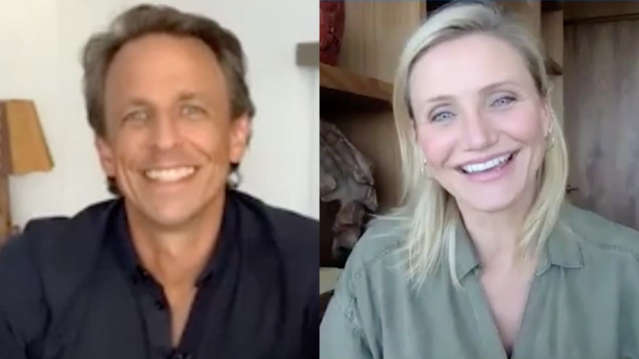 Watch Late Night with Seth Meyers Interview: Cameron Diaz ...Cameron Diaz Baby 2020