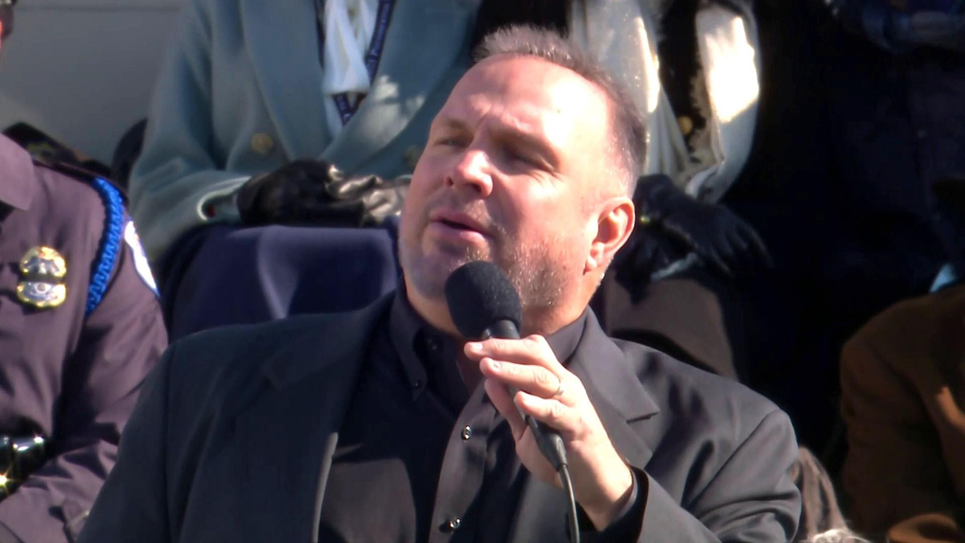 Watch TODAY Highlight: Garth Brooks' inaugural performance ...
