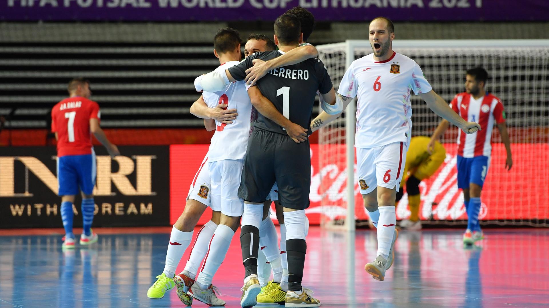 Watch FIFA Futsal World Cup Lithuania 2021 Highlight: Paraguay vs. España 0-4 - NBC.com