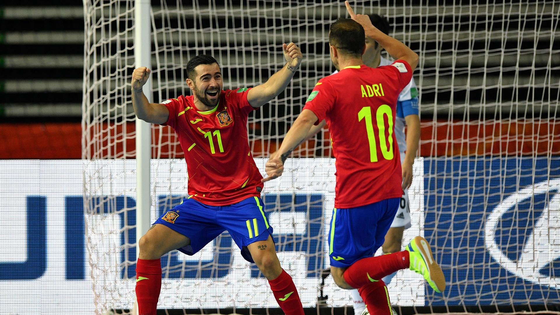 Watch FIFA Futsal World Cup Lithuania 2021 Highlight: España vs. Japón 4-2 - NBC.com