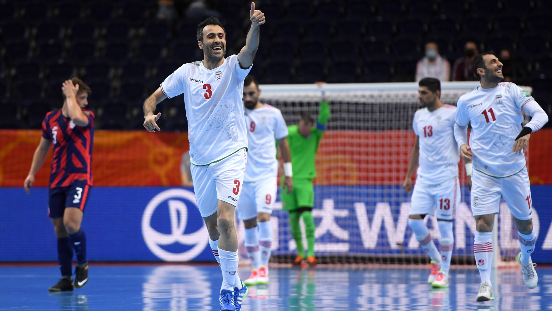 Watch FIFA Futsal World Cup Lithuania 2021 Highlight: Ri de Irán vs. EE.UU. 4-2 - NBC.com